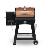 Pit Boss Lexington 500 sq. in. Wood Pellet Grill w/ Flame Broiler and Meat Probe