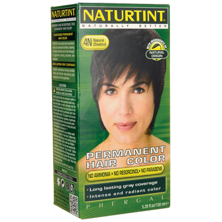 Naturtint Permanent Hair Color - 4N Natural Chestnut 1 Box