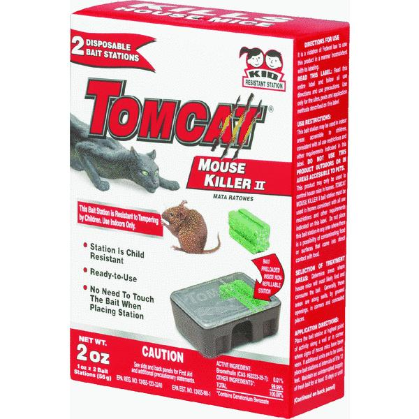 Tomcat Mouse Killer II Disposable Mouse Bait Station