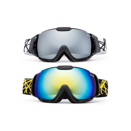 - Cloud 9 - Professional Kids Boys and Girls Snow Goggles