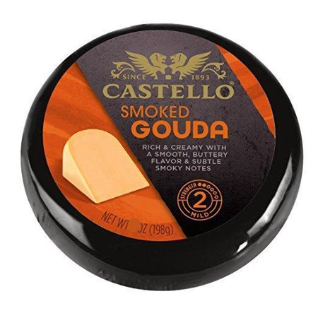 Smoked Gouda Cheese (Castello) 6 oz (Best Cheese With Smoked Salmon)