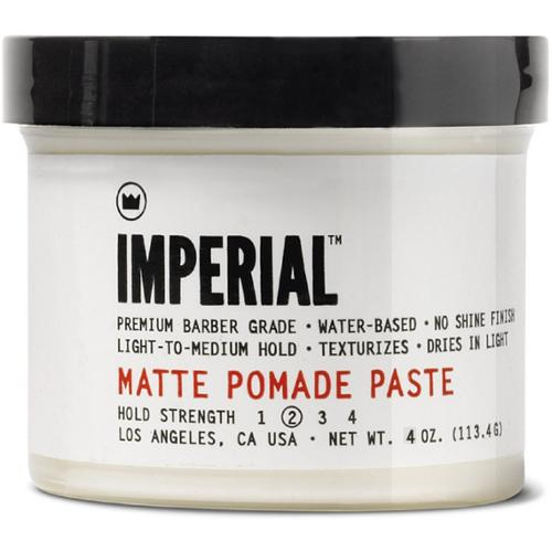 Imperial Barber Products Matte Pomade Paste 4 oz (Pack of 6)