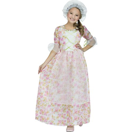 Colonial Lady Child Halloween Costume