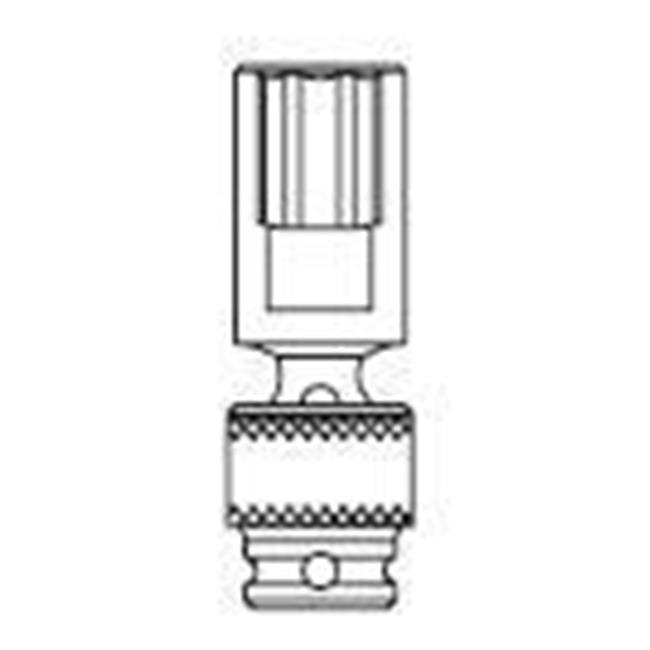 1/2 Inch Drive 6 Point Deep Universal Impact Socket - 22mm - image 1 de 1
