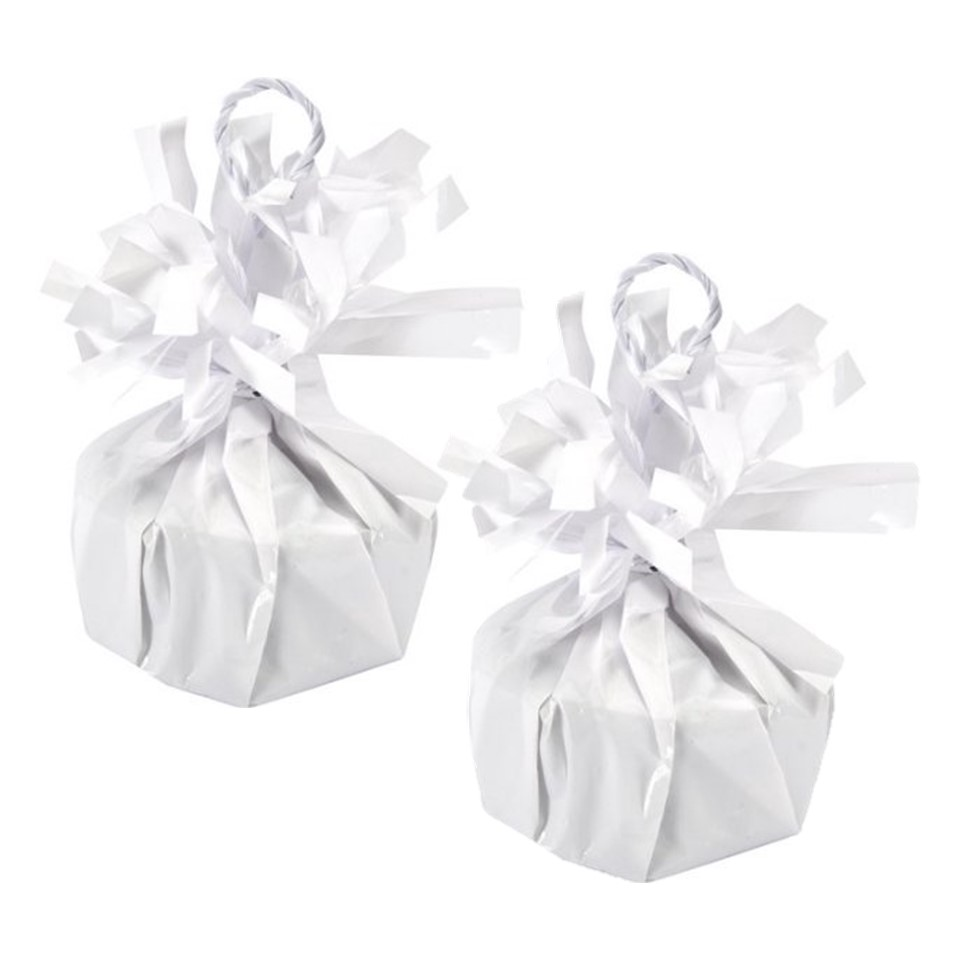 Way to Celebrate Balloon Weight, White, 2-Pack (2 Weights)
