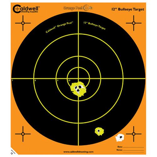 "Caldwell Orange Peel 12"" Bulls-Eye 100 Sheets"