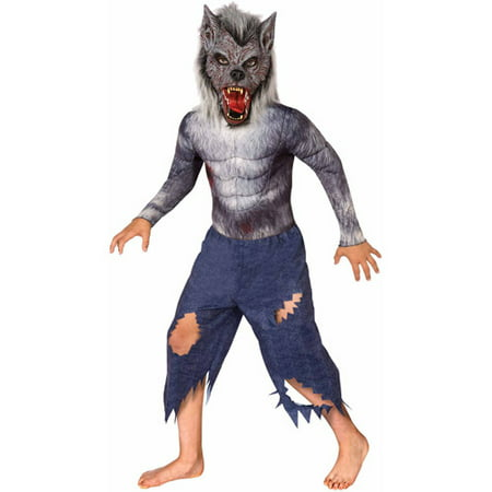 Werewolf Child Halloween Costume - Werewolf Face Paint Halloween
