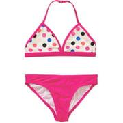 Girls' Bikini Solid Swimsuit