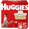 Huggies Little Snugglers Baby Diapers, Size 5, 58 Ct, Giga Jr Pack