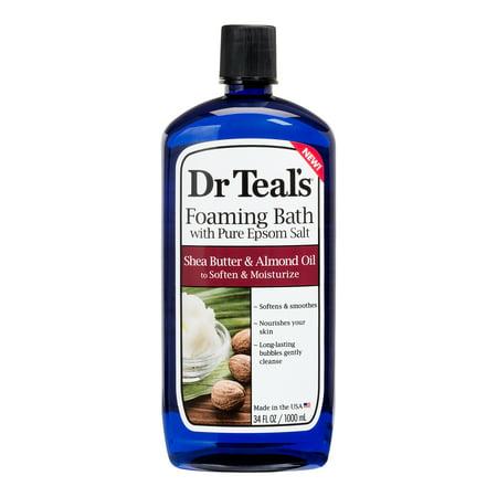 Dr Teal's Shea Butter & Almond Foaming Bath, 34 fl.oz.