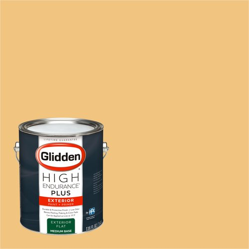 Pale Orange Paint glidden high endurance plus, exterior paint, pale orange, # 17yy