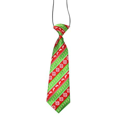 Christmas Bow Tie (Christmas Dog Bow Tie Pets Print Festival Neck)