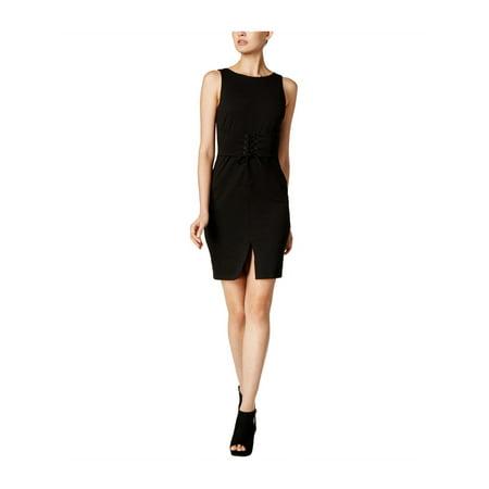 bar III Womens Solid Bodycon Dress deepblack XL - image 1 de 1