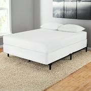 mainstays 7 adjustable metal bed frame easy no tools assembly twin - Adjustable Metal Bed Frame
