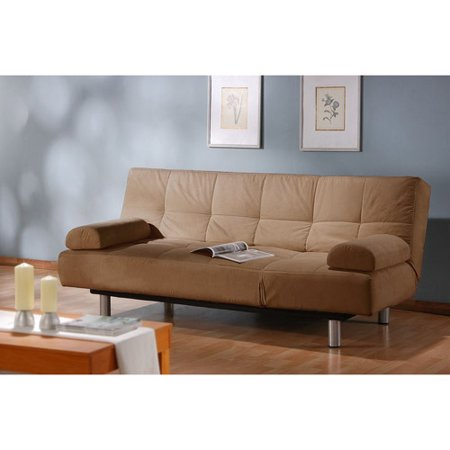 Atherton Home Manhattan Convertible Futon Sofa Bed and Lounger, Multiple Colors