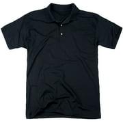 Ted Nugent Distress Logo (Back Print) Mens Polo Shirt