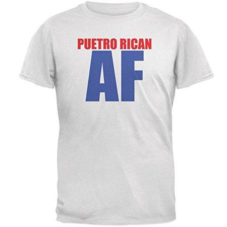Puerto Rican AF Mens T Shirt ()