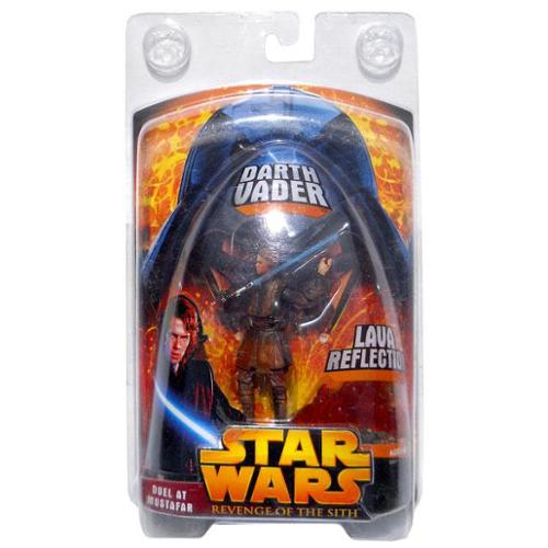 Star Wars Revenge of The Sith Lava Reflection Darth Vader Figure w/ Protective Case