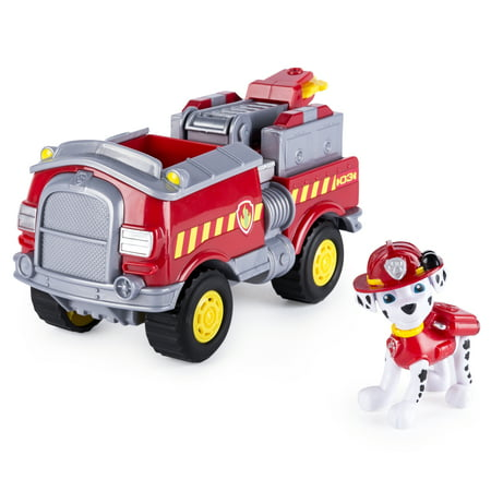 Watch Fire Truck (Paw Patrol - Marshall's Forest Fire Truck Vehicle - Figure and Vehicle )