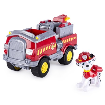 Paw Patrol - Marshall's Forest Fire Truck Vehicle - Figure and Vehicle for $<!---->