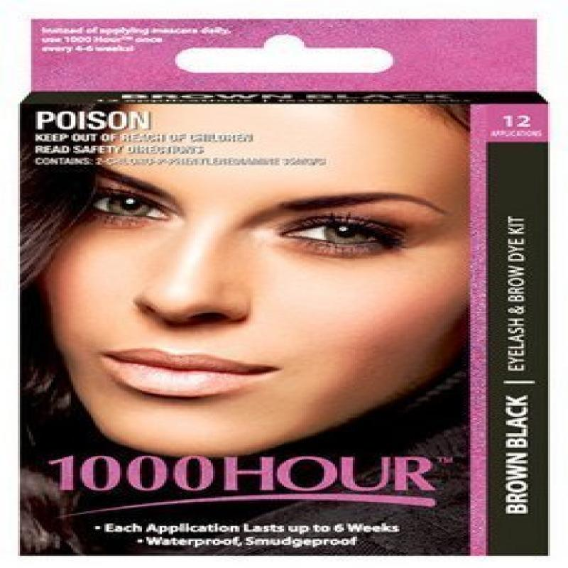 1000 Hour Eyelash ; Brow Dye /Tint Kit Permanent Mascara ...