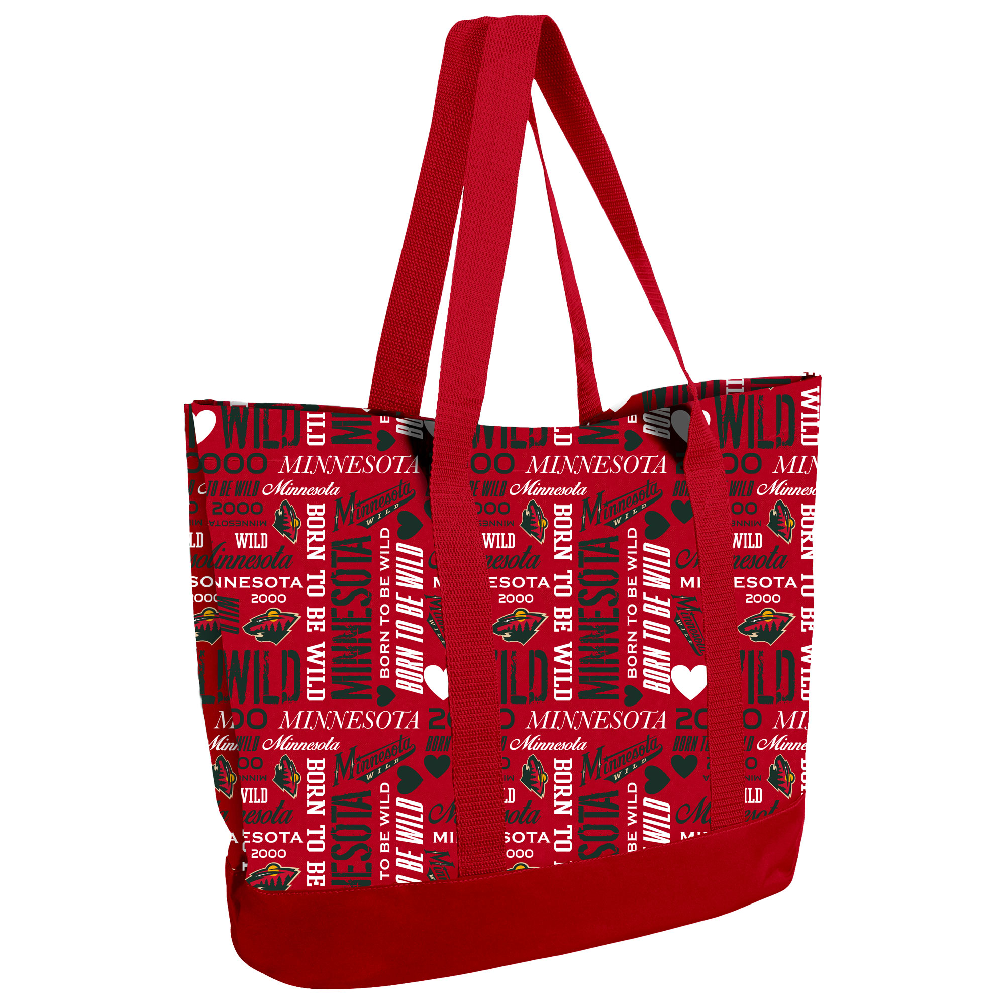 Minnesota Wild Women's Collage Tote Bag - No Size