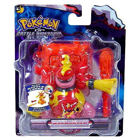 10 Pokemon Action Figures (Pokemon Battle Dimension Series 10 Magmortar Action Figure )