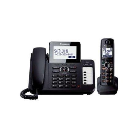 Panasonic KX-TG6671B Dect 6.0 Plus Cordless Phone w  1 Handset by
