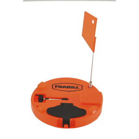 Frabill Tip-Up Pro Thermo Orange, 1660 (Tip Down Ice Fishing)