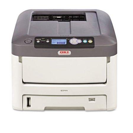 Okidata - 62433501 - Oki C711N LED Printer - Color - 1200 x 600 dpi Print - Plain Paper Print - Desktop - 36 ppm Mono /