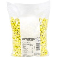 Celebration by SweetWorks Yellow Shimmer Sixlets Balls, 2 lbs