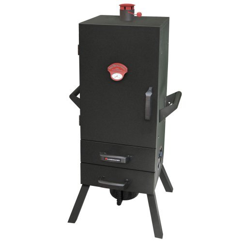 Landmann 34 in. Charcoal Easy Access 2 Drawer Vertical Smoker
