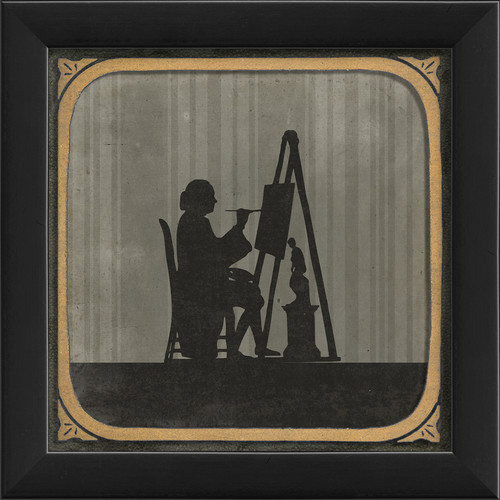 The Artwork Factory The Painter Framed Graphic Art
