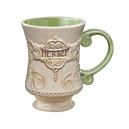 Grasslands road celtic 10 ounce herself irish coffee mug for Grasslands road mugs
