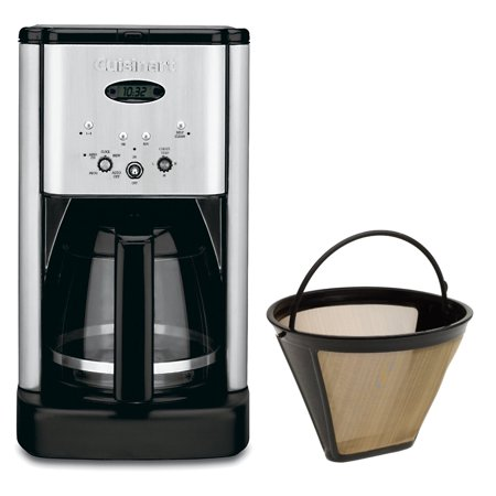 Cuisinart Coffee Maker On Off Switch Broken : Cuisinart DCC-1200 Brew Central 12 Cup Programmable Coffeemaker Gold Tone Filter Bundle Includes ...