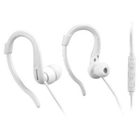 Earhook Headphones Microphone - White - image 1 de 1