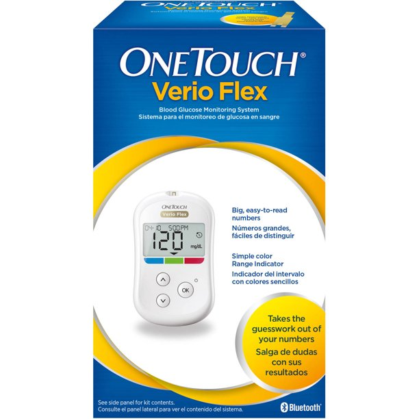 OneTouch Verio Flex Blood Glucose Monitoring System