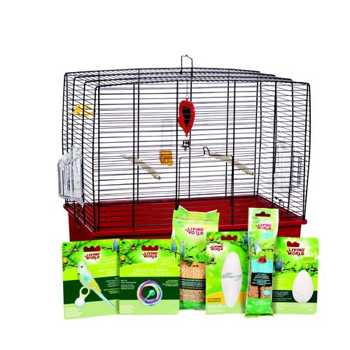 Hagen Living World Deluxe Budgie Starter Kit