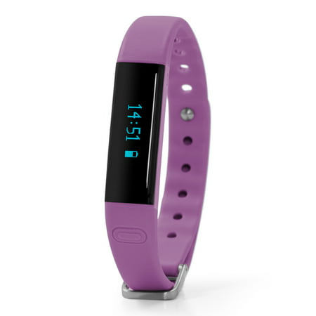 Nuband Activ2+ Slim Activity Tracker Watch, Purple