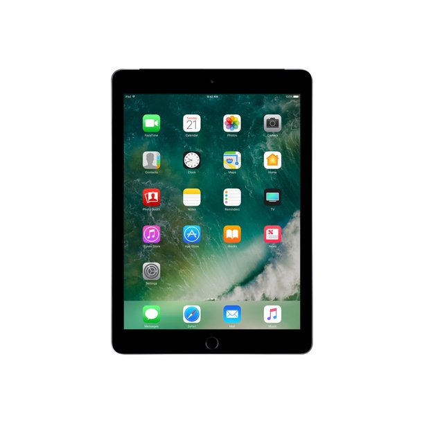 "Apple 9.7-inch iPad Wi-Fi + Cellular - 5th generation - tablet - 128 GB - 9.7"" IPS (2048 x 1536) - 4G - LTE - space gray"