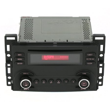 2006 2007 pontiac g6 am fm radio cd player part number. Black Bedroom Furniture Sets. Home Design Ideas