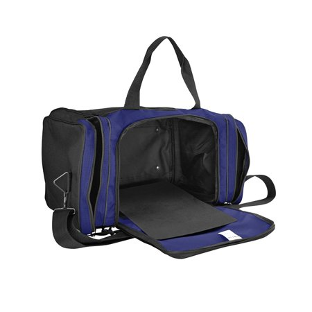 9479c8be7b Blank Duffle Bag Duffel Bag in Black and Purple Gym Bag By DALIX - Walmart .com