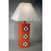 Judith Edwards Designs Three Life Ring 32'' Table Lamp