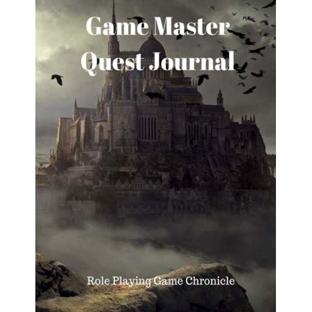 Game Master Quest Journal : Role Playing Game (Best Fantasy Role Playing Games)