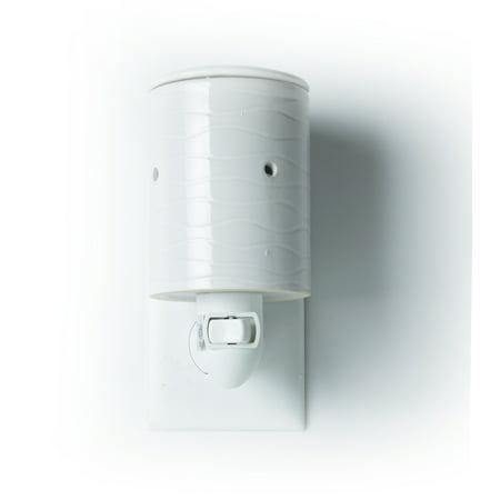 Mainstays Wax Melt Accent Warmer, White, Single