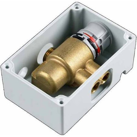 American Standard 605Xtmv1070 Thermostatic Mixing Valve With Anti Scald Protection