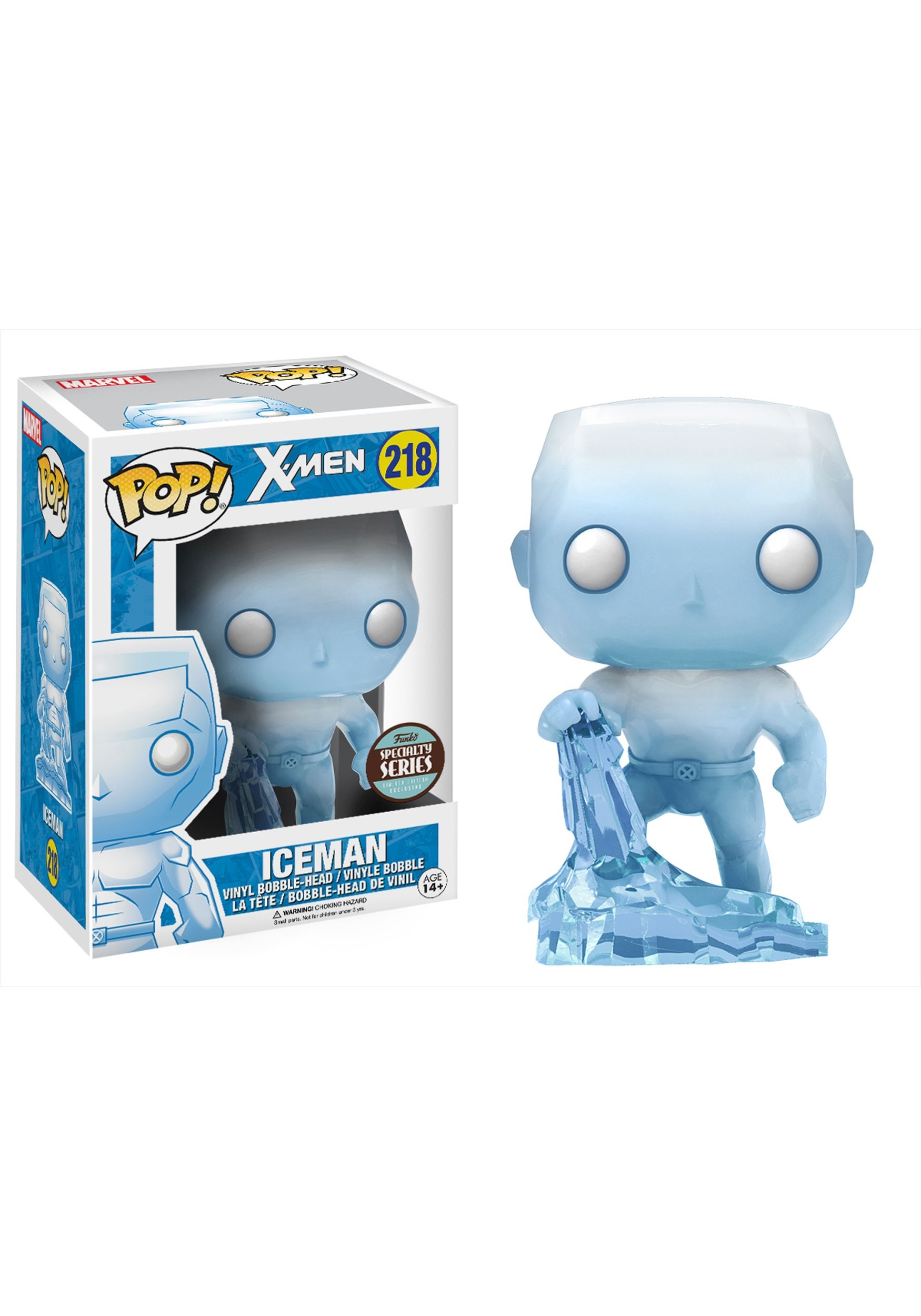 Pop! Marvel X-Men Ice Man Vinyl Figure by Funko