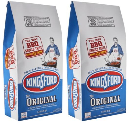 (2 pack) Kingsford Original Charcoal Briquettes, 15.4 lb Bag