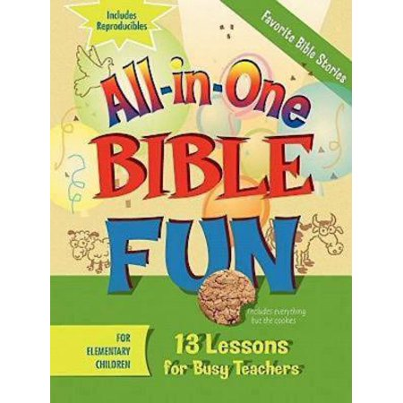 All-In-One Bible Fun for Elementary Children: Favorite Bible Stories : 13 Lessons for Busy Teachers - Halloween Lesson Esl Elementary