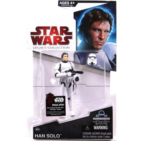 Han Solo Action Figure Stormtrooper Disguise Star Wars A New Hope (New Stormtrooper Helmet)
